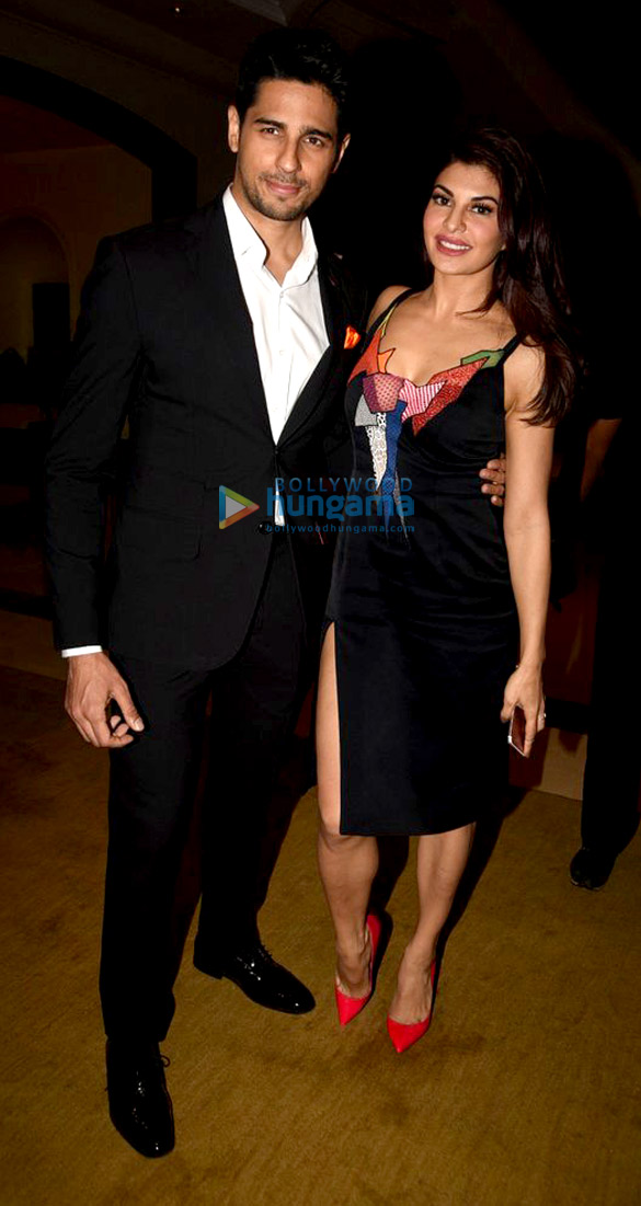 Sidharth Malhotra and Jacqueline Fernandez at 'A Gentleman' promotional photoshoot