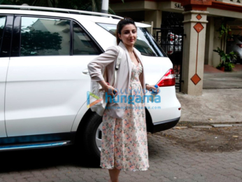 Soha Ali Khan snapped in Bandra