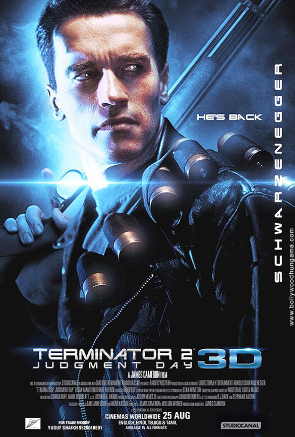 First Look Of The Movie Terminator 2: Judgment Day (English)