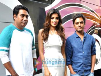 Tiger Shroff, Nidhhi Agerwal and Nawazuddin Siddiqui snapped at 'Munna Michael' promotions