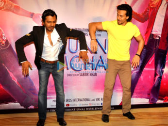 Tiger Shroff and Nawazuddin Siddiqui unveil the 'SWAG' song from their film 'Munna Michael'