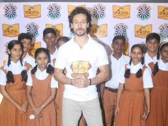 Tiger Shroff at the campaign launch of P&G Shiksha