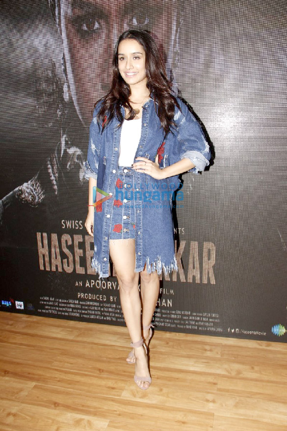Launch of Haseena song at Twitter Blue office in Mumbai