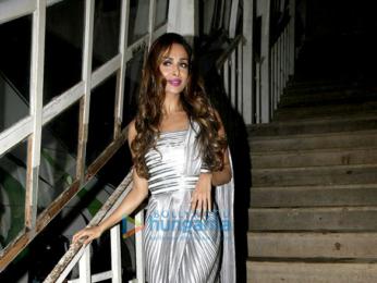Malaika Arora snapped at an ad shoot