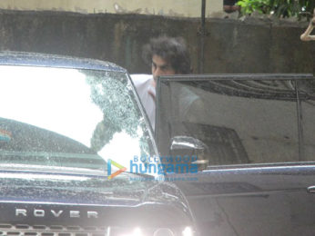 Ranbir Kapoor snapped post rehearsal for his forthcoming movie
