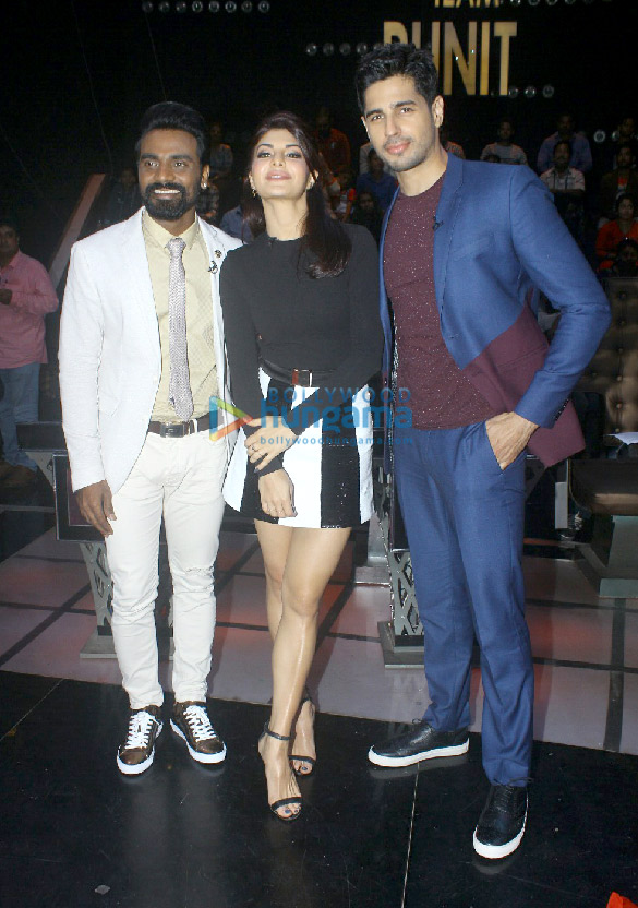Cast of A Gentleman snapped on the sets of Dance+