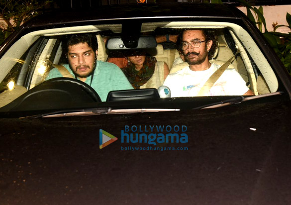 Aamir Khan, Fatima Sana Shaikh & Kiran Rao snapped post watching a play in Mumbai
