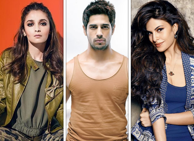 All's well between Alia Bhatt & Sidharth Malhotra, Jacqueline Fernandez link-up is a publicity stunt