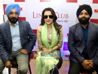 Ameesha Patel graces the launch of the 151st Linen Club store in Jalandhar