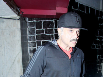 Anil Kapoor spotted in a new look for his film 'Fanney Khan' at BBlunt Salon