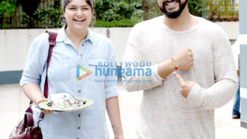 Arjun Kapoor & Anshula Kapoor snapped post Rakshabandhan celebrations at Sanjay Kapoor's house