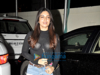 Bhumi Pednekar snapped post a movie at PVR Juhu