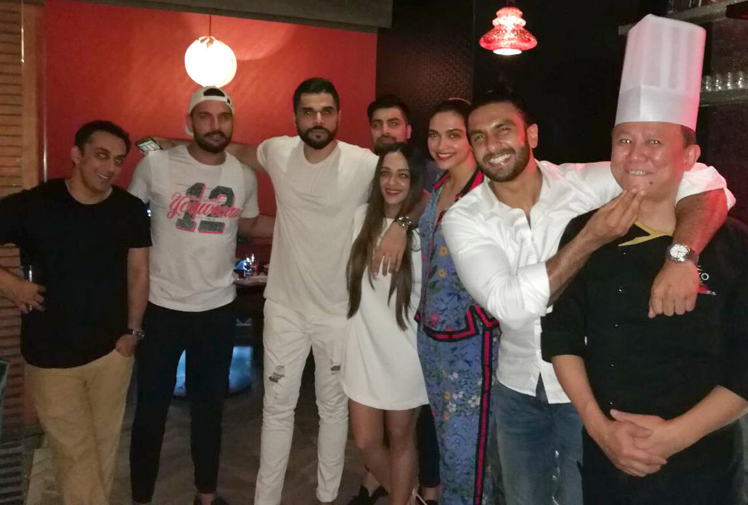Check out Ranveer Singh and Deepika Padukone's date night turns into a group night with Yuvraj Singh and Rohan Gavaskar