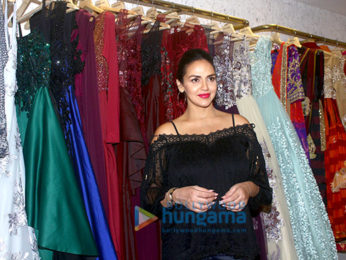 Esha Deol snapped at Neeta Lulla store shopping her Baby Shower fittings
