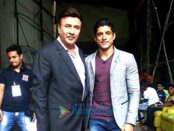 Farhan Akhtar and Diana Penty promote 'Lucknow Central' on 'The Drama Company'