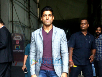 Farhan Akhtar and Diana Penty promote 'Lucknow Central' on 'The Drama Company'