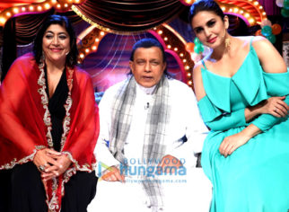 Huma Qureshi and Mithun Chakroborty promote the film Partition: 1947 on The Drama Company