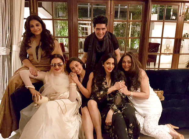 INSIDE PHOTOS Aishwarya Rai Bachchan, Vidya Balan, Rekha, Rani Mukerji, Shabana Azmi come to together for Sridevi's birthday celebrations! (2)