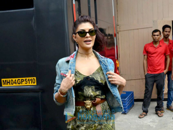 Jacqueline Fernandez snapped at 'A Gentleman' promotions