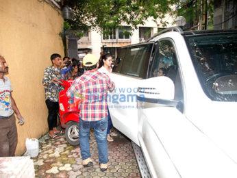 Kajol snapped in Bandra post a meeting