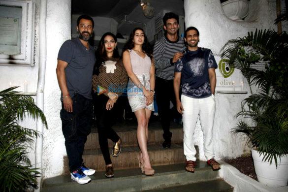 'Kedarnath' cast meets for dinner at Olive