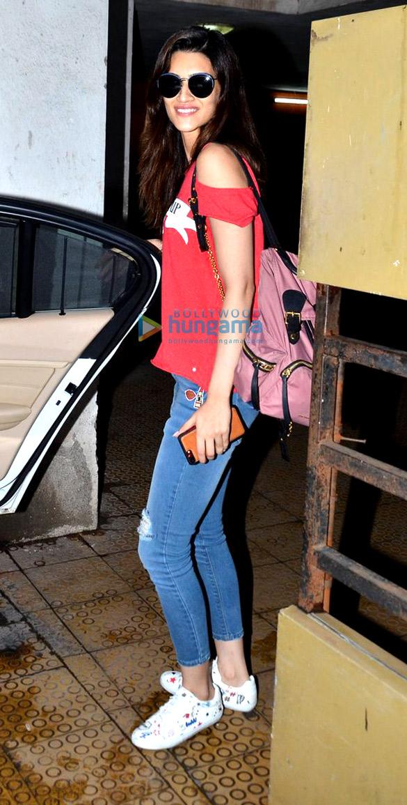 Kriti Sanon snapped in Bandra