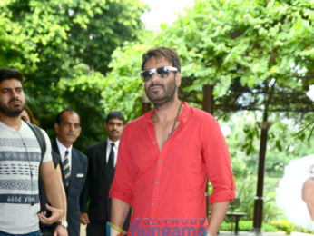 Media meet of 'Baadshaho' in Delhi