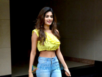 Nidhhi Agerwal snapped on her birthday