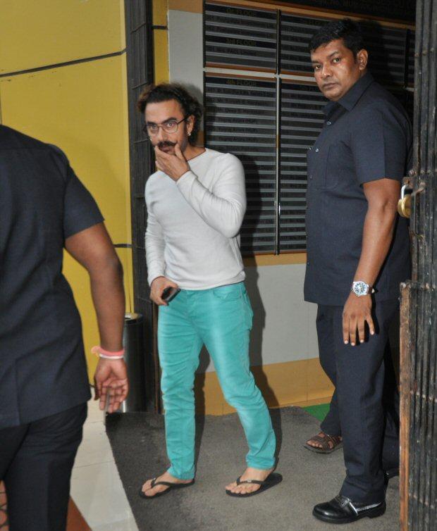 OMG! Did Aamir Khan lose weight due to swine flu