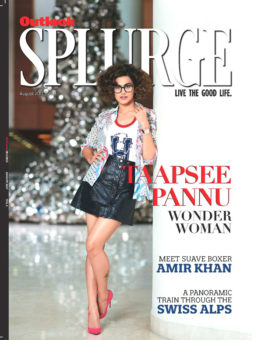 Taapsee Pannu On The Cover Of Outlook Splurge