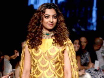 Radhika Apte walks for Shailesh Singhania at Lakme Fashion Week 2017