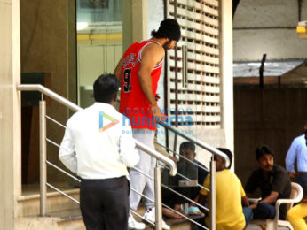 Ranbir Kapoor snapped post rehearsals in Bandra