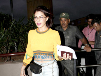 Shahid Kapoor, Mira Rajput, Jacqueline Fernandez, Sushant Singh Rajput and Karan Johar snapped at the airport tonight