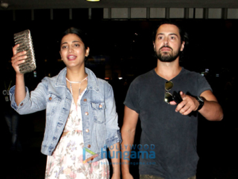 Shruti Haasan snapped at the airport with her boyfriend