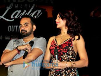 Sidharth Malhotra & Jacqueline Fernandez launch 'Bandook Meri Laila' song from A Gentleman
