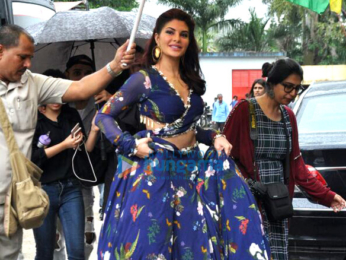 Sidharth Malhotra and Jacqueline Fernandez promote 'A Gentleman' on the sets of Saregama Lill Champs