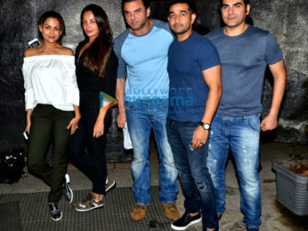 Sohail Khan and Arbaaz Khan family snapped at Otters Club