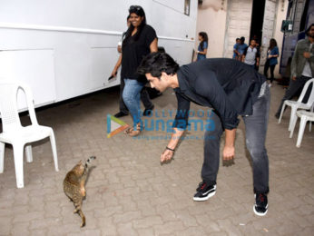Sushant Singh Rajput snapped post an AD shoot