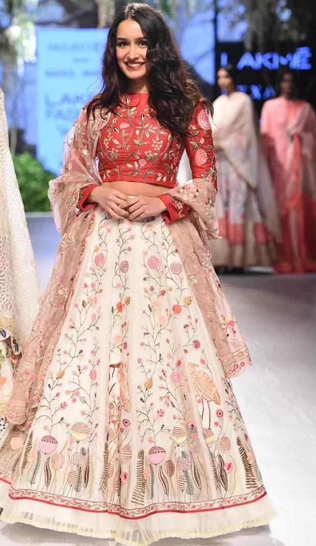 WOW! Shraddha Kapoor walks the LFW 2017 ramp in graceful ethnic avatar