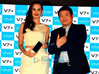 Evelyn Sharma graces the launch of Vivo V7 Plus in Mumbai