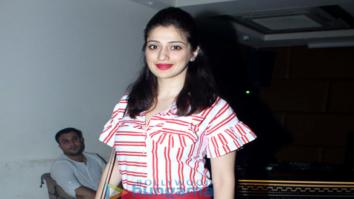 Laxmi Rai snapped at Sargun Mehta's birthday bash