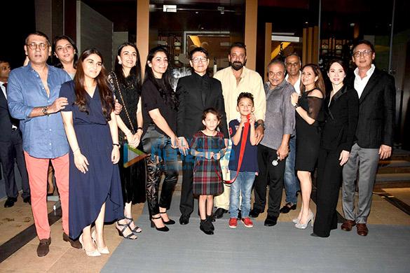 Sanjay Dutt and family grace the opening of Nara Thai restaurant