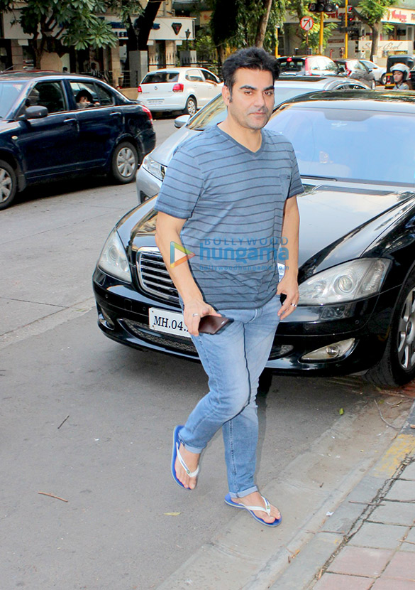 Arbaaz Khan snapped at A'Kreations in Bandra