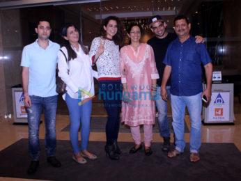 Kangana Ranaut & family snapped post dinner in Bandra