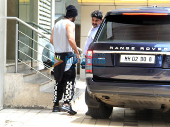 Ranbir Kapoor snapped post her dance rehearsals in Bandra
