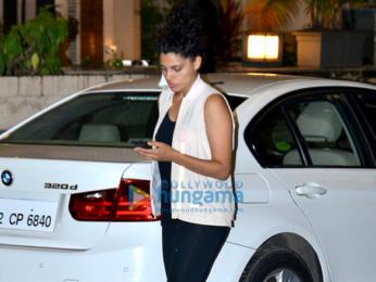 Saiyami Kher snapped in Bandra