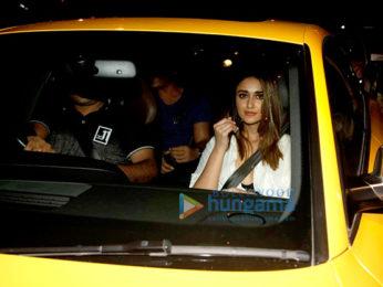 Priyanka Chopra, Ileana D'Cruz, Goldie Behl and Mohit Suri snapped at Olive in Bandra