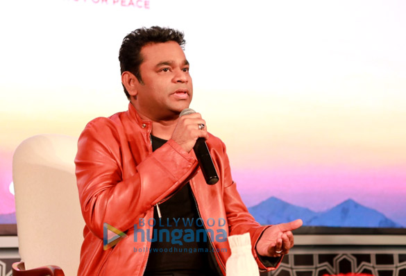 A.R. Rahman at the launch of The Sufi Route festival in India
