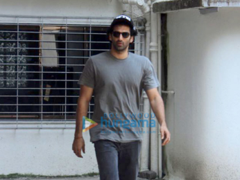 Aditya Roy Kapur snapped in Mumbai