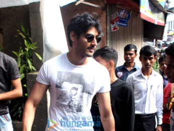 Ahan Shetty snapped in Mumbai